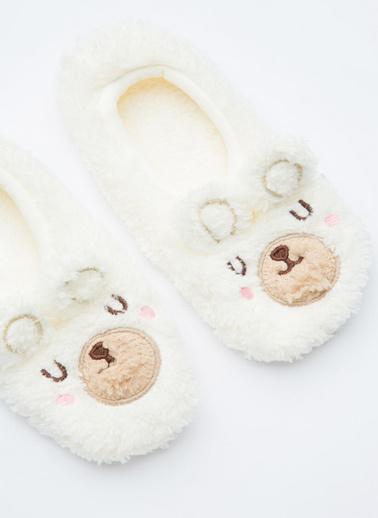Penti Beyaz Kız Çocuk Pure Bear Çetik Beyaz